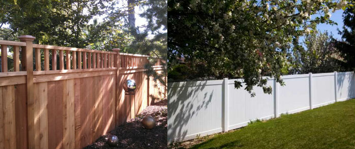 Wood vs. Vinyl Fences in Palm Coast, Florida